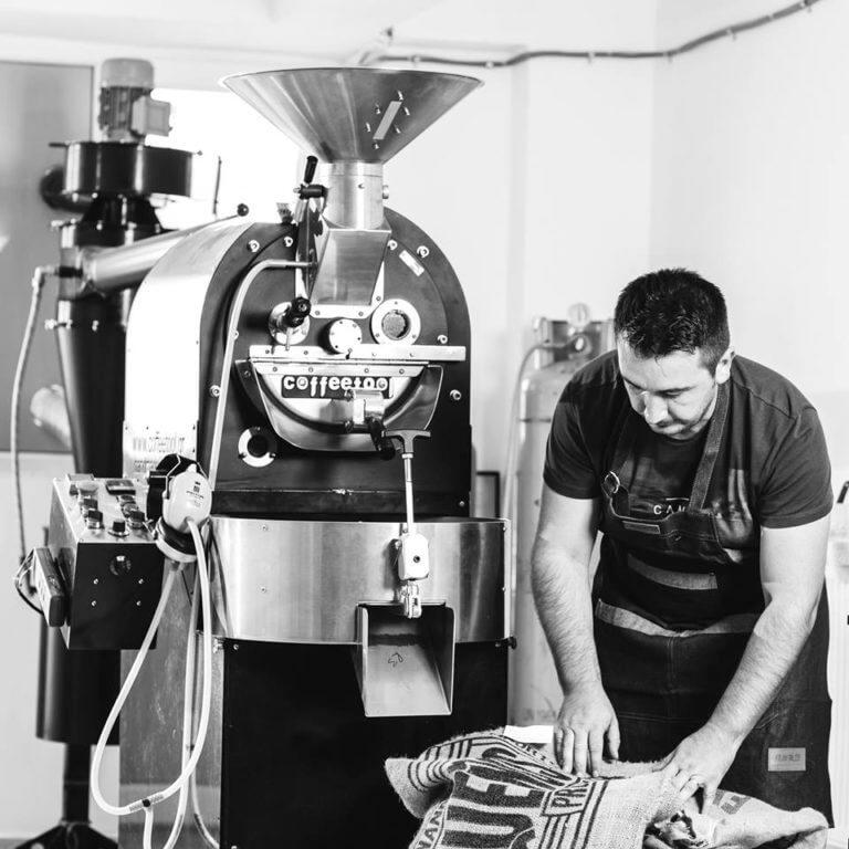 Andrei Bolocan, prăjitor de cafea