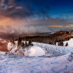 The most beautiful Romanian winter landscapes