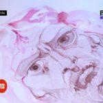 Pictură cu vin. Ion Nedelcu și uimitoarele sale tablouri