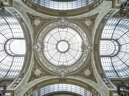 Palatul CEC cupole opt