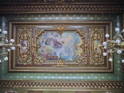 Palatul CEC sala consiliu pictura opt