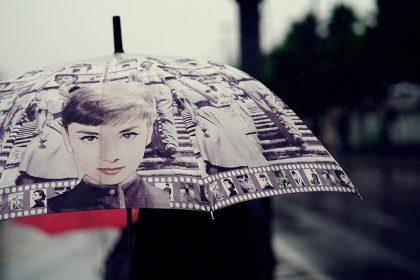 eticheta ploaie umbrela