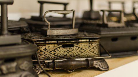 Colecția de fiare de călcat | foto: Ana Georgescu