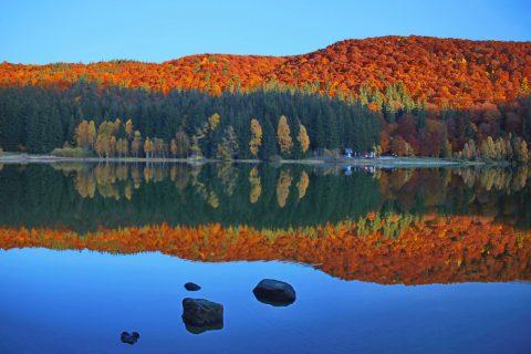 Lacul Sfânta Ana foto Fodor Istvan