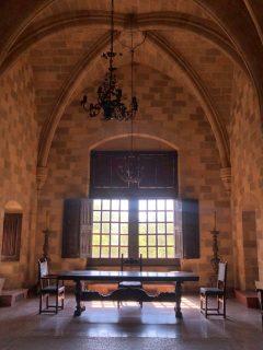 Interior Palatul Marilor Maestri Rhodos