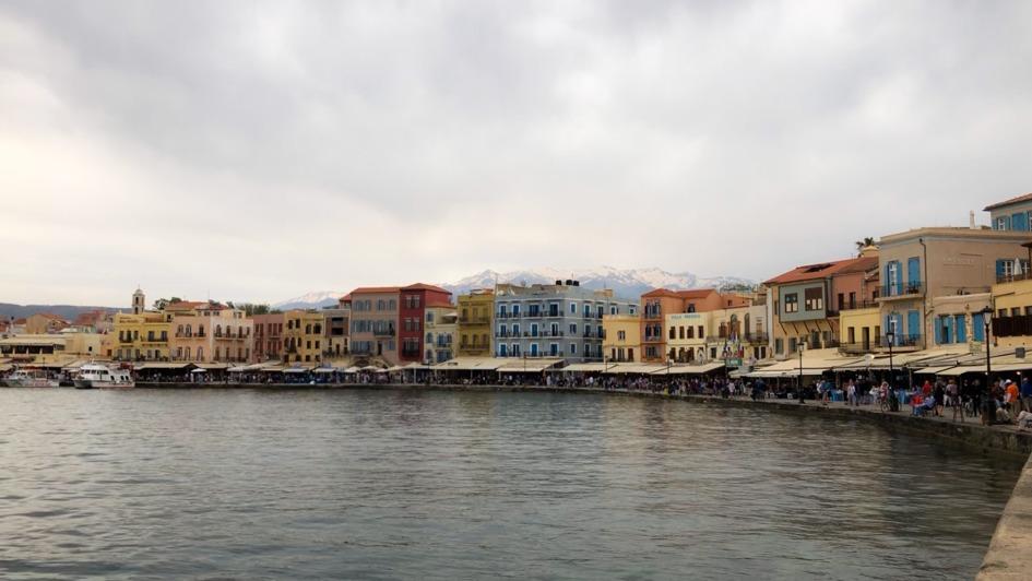 creta chania port vechi