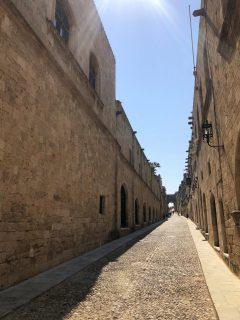 strada cavalerilor rhodos
