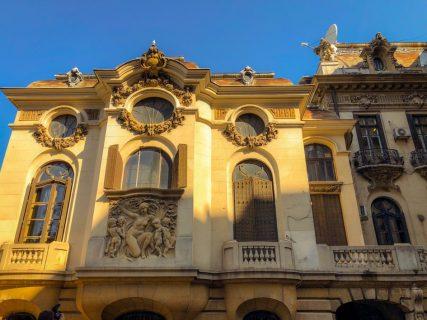 palatul cantacuzino calea victoriei muzeul enescu lateral