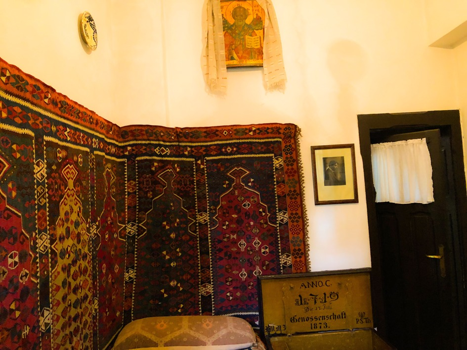 Vila Luminiș, Sinaia, dormitorul lui George Enescu