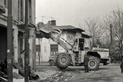 demolari strada uranus foto andrei birsan
