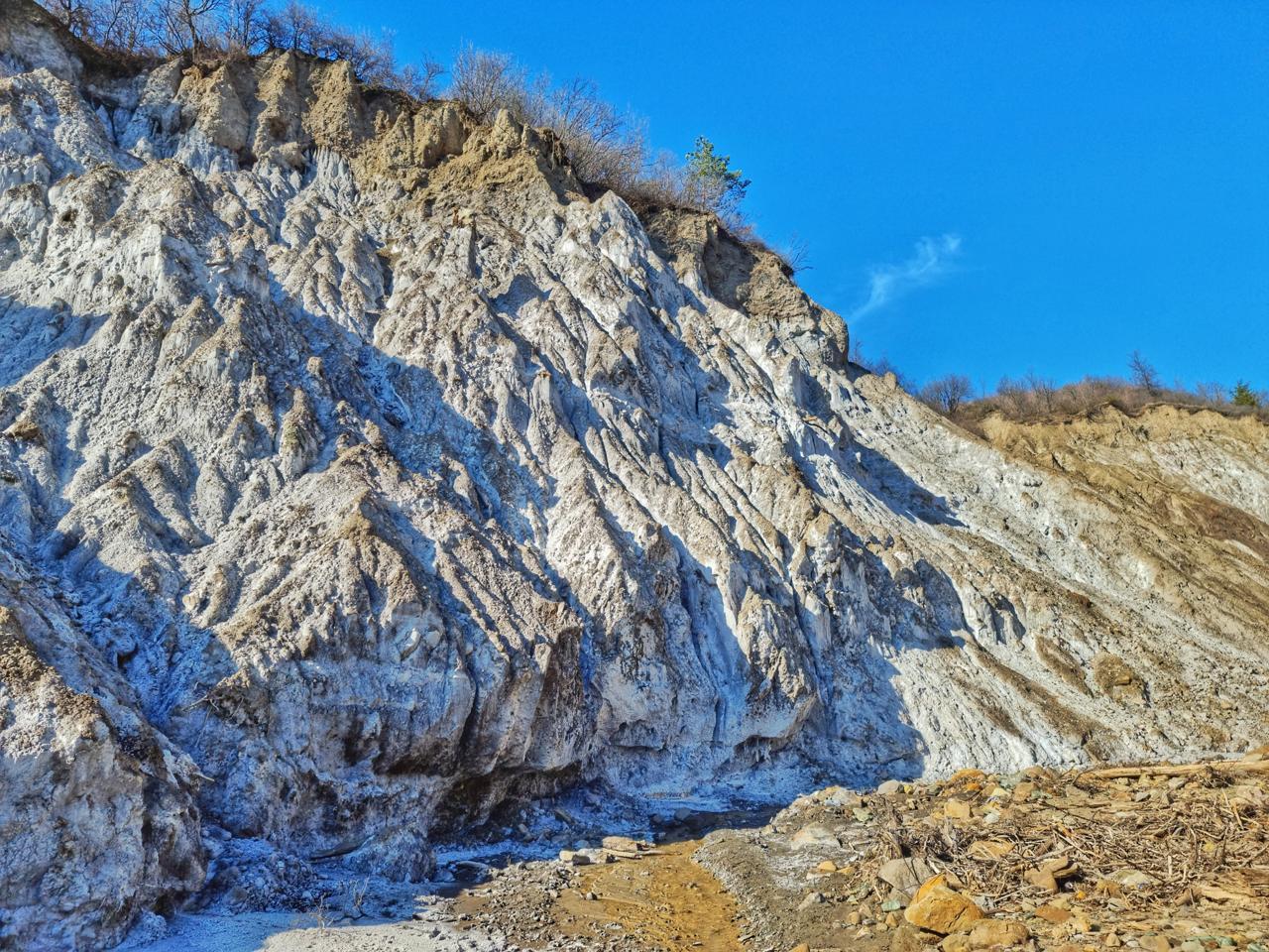 Ținutul Buzăului masivul de sare lopatari buzau